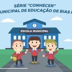 """Série """"Conhecer"""" – A rede Municipal de Educação de Bias Fortes"""