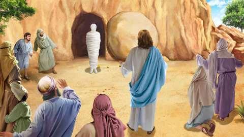 Resurrezione,Lazzaro,Dio,Gesù,credente,discepoli