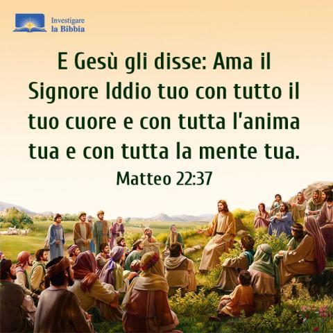 Gesù ha insegnato ai discepoli sulla montagna
