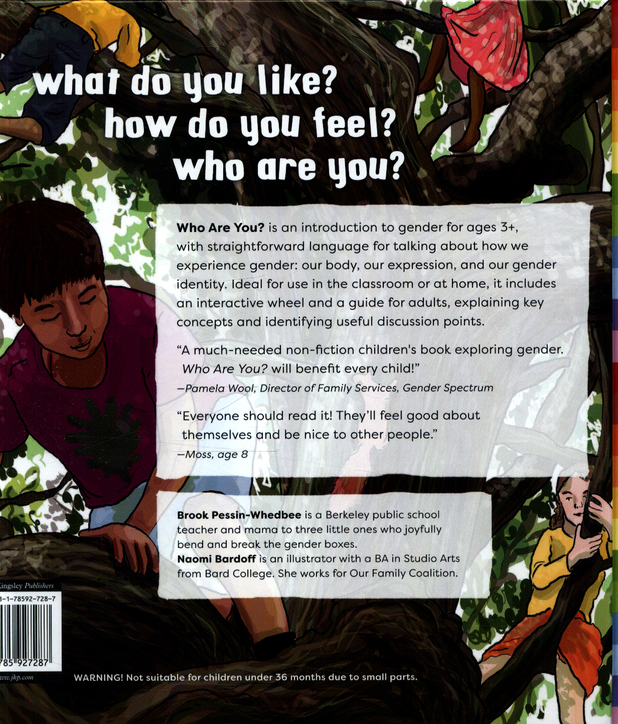 Who Are You The Kid S Guide To Gender Identity By
