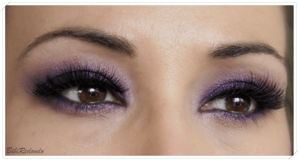 pigmento morado GRAPE de Mac.