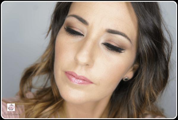 Maquillaje en tonos granates - sombras MAC