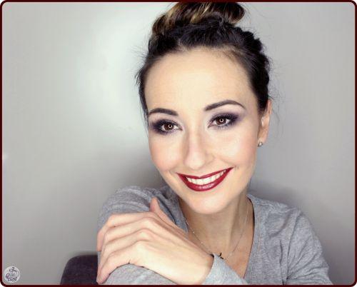Makeup en tonos malvas - Sombras de Mac