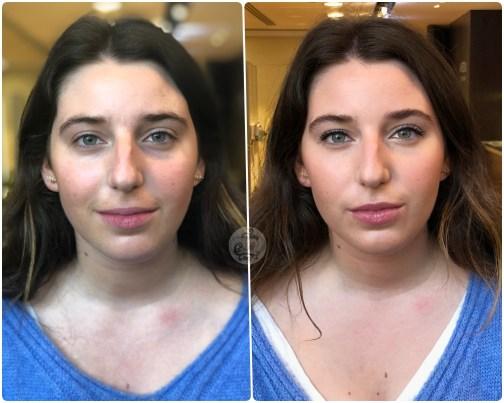 ANTES/DESPUÉS - Maquillaje Natural con poco productos