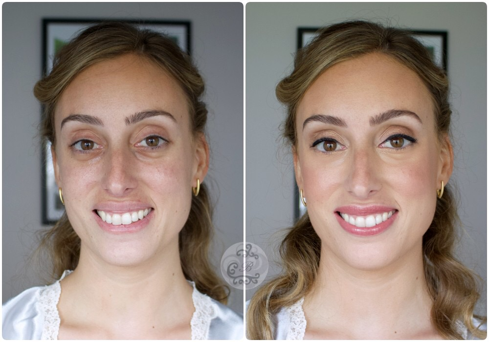Antes/después hermana Laura - Bobbi Brown