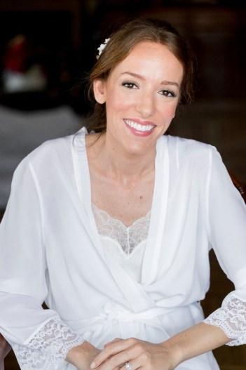 Antes/después Novia Ana Prieto- Productos Bobbi Brown
