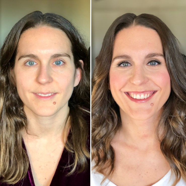 Antes/Después - Bobbi Brown Cosmetics