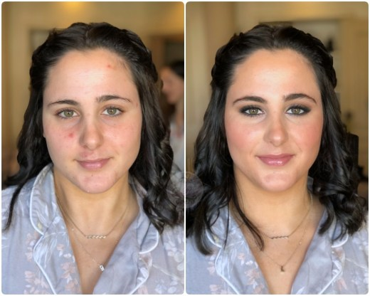 Antes/después a Lola - Bobbi Brown Cosmetics