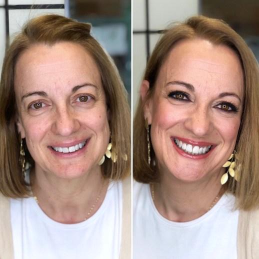 Antes/después  Bobbi Brown Lagasca