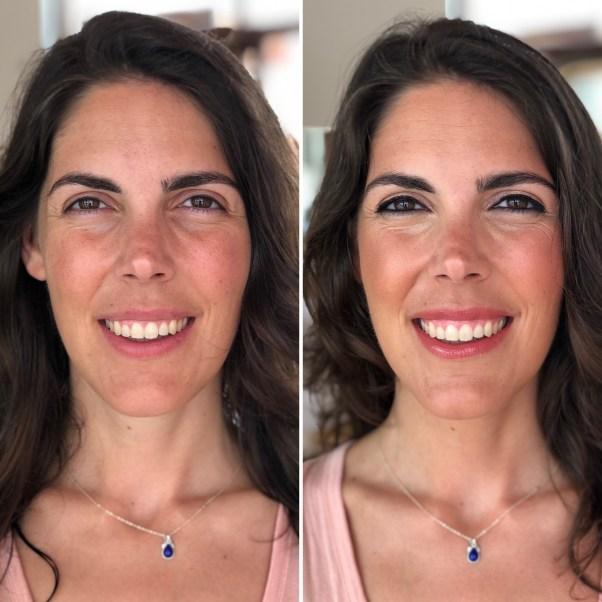 Maquillaje a Cristina - Menorca