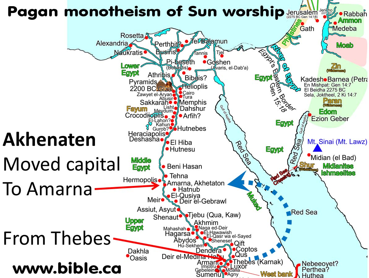 Bible 7 Evidence Israel Led By Joshua