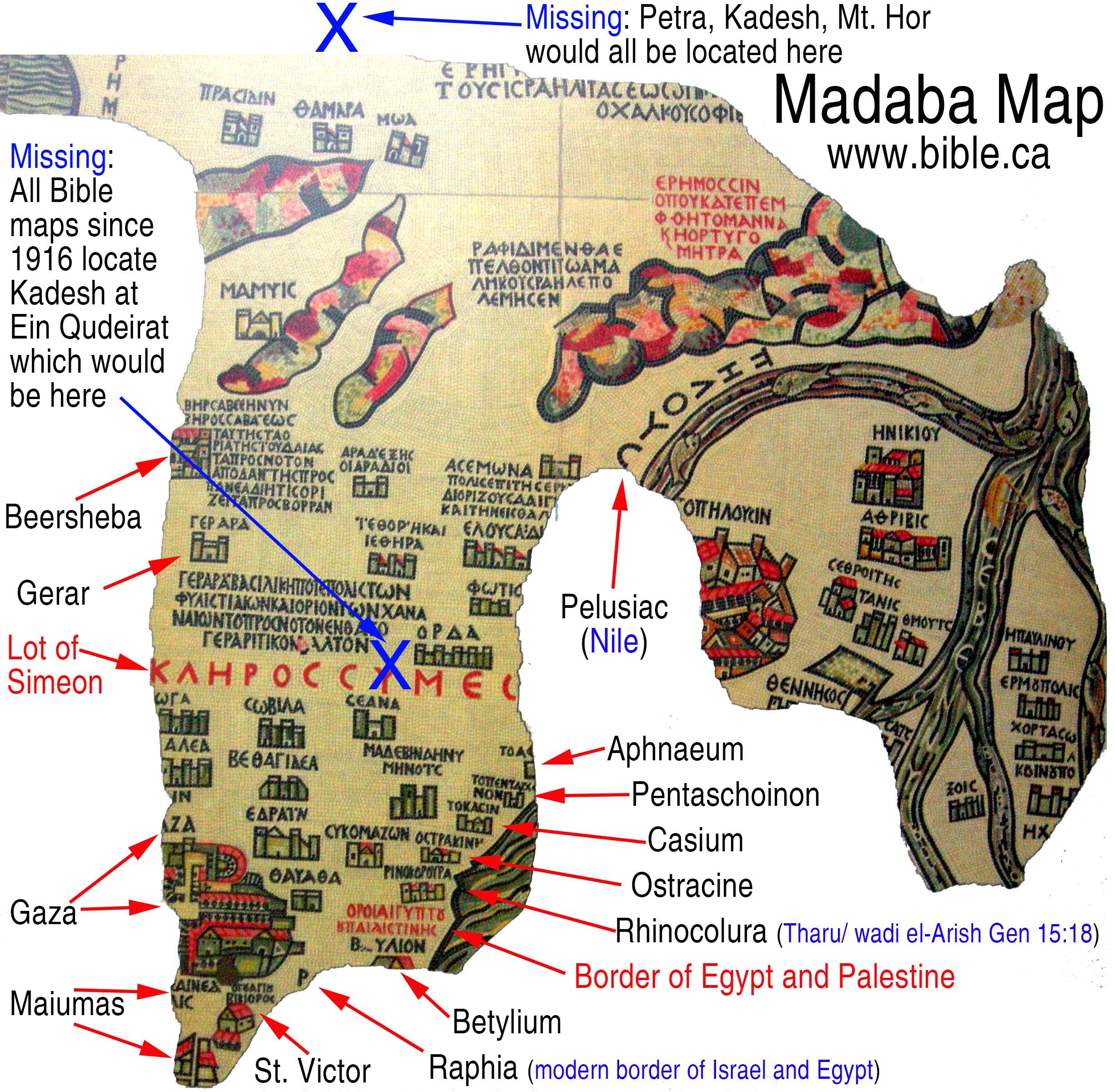 Ein El Qudeirat Is Not Kadesh Barnea Wrongly Identified