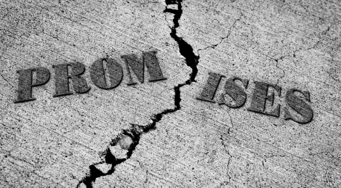 Leadership Lessons Part IX: The Test of the Broken Vow