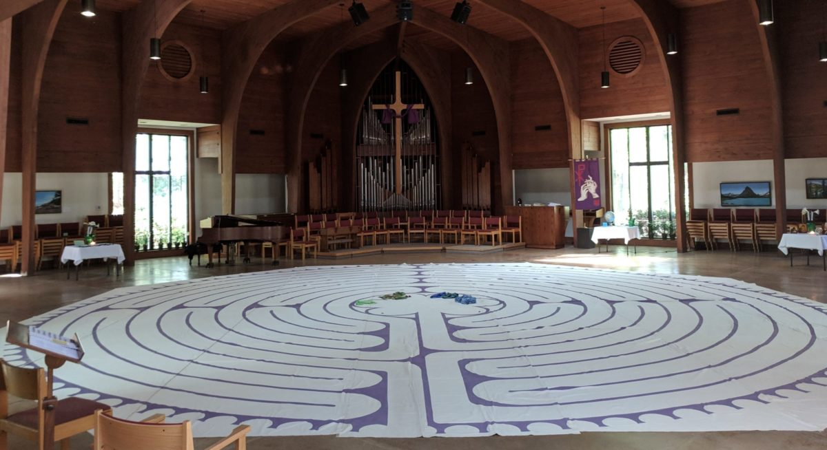 Labyrinth at Olin T. Binkley Baptist Church, Chapel Hill, NC