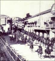 General Allenby entering Jerusalem