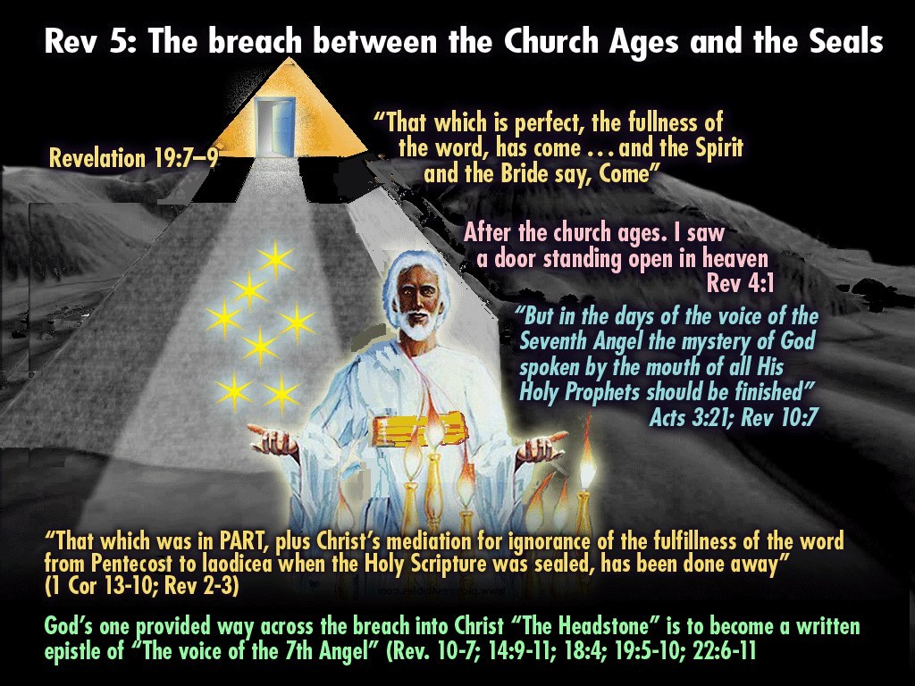 Breach between the Church Ages and the Seals