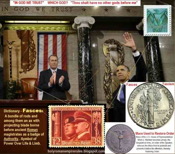 Roman Fasces in US Senate