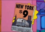 Homer Simpson promoting 9/11 in 1997