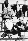 lynching of Mussolini and his wife