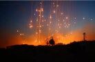 US white phosphorus fire