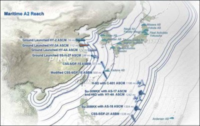 CSBA analysis makes it clear that the target of new military tactics such as Air Sea Battle is China