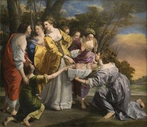 Moses saved from the waters - Orazio Gentileschi (1633)