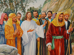 Jesus and the Twelve Disciples