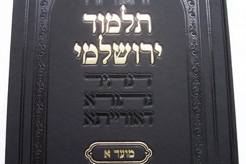 Traditional Jewish Talmud - cover