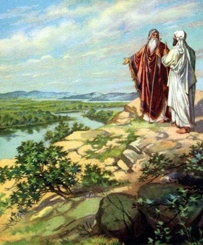 Abraham and Lot separate