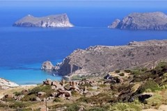 The island of Patmos - where Jesus revealed the book of Revelation to John