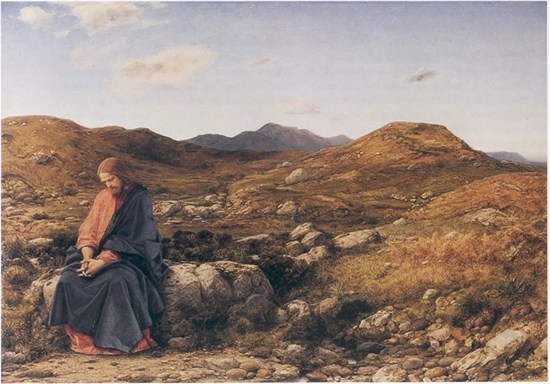 The Man Of Sorrows - William Dyce, 1860