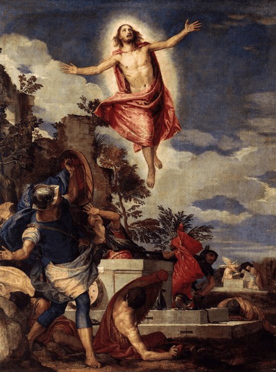 The resurrection of Christ - Paolo Veronese (1570)