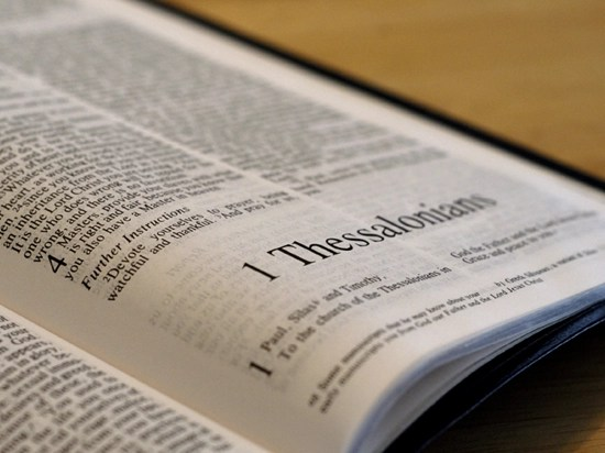 Detailed outline of 1 Thessalonians