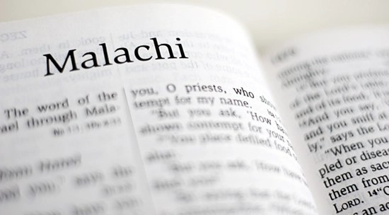 Detailed outline of the Book of Malachi
