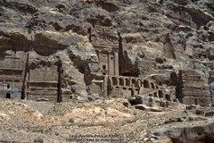 Edomite cave-dwellers in Petra in Ancient Edom
