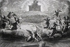 Seven angels blowing trumpets - Unknown artist
