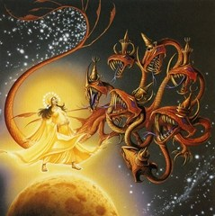 A Woman Clothed with the Sun - Rodney Matthews