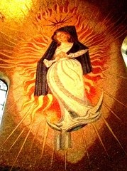 The Woman Clothed with the Sun Mosaic - Basilica of the National Shrine of the Immaculate Conception - Joseph L. Young (1967)