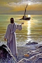 Jesus calls the disciples at the Sea of Galilee - Unknown