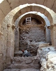 Massive archways unearthed at Herod the Great's Herodium