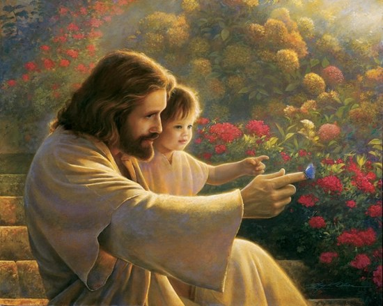 Precious in his Sight - by Greg Olsen