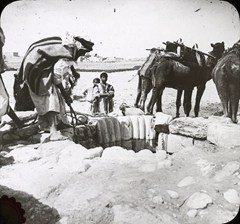 Celebrate site of Abraham's well in Beersheba - circa 1930