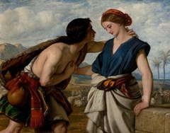 Rachel and Jacob by William Dyce