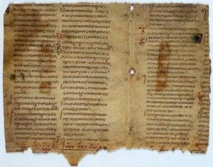 Pseudepigrapha fragment