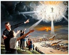 The Second Coming of Christ - Artist Unknown