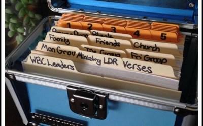 Simple Method to Organize Prayers