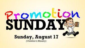 08-17-14 Promotion Sunday