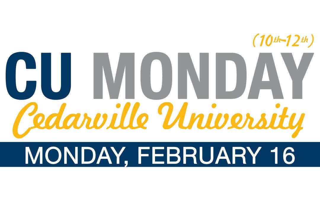 CU Monday!