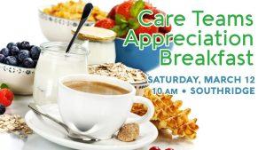 Care Team Breakfast