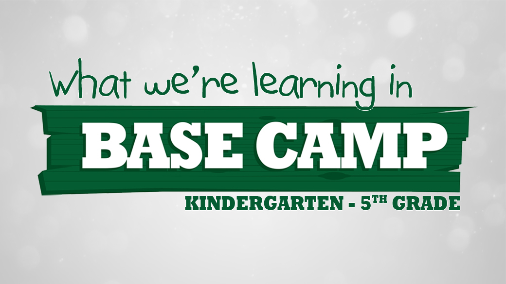 BASE Camp: What we're learning in July